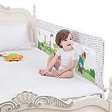 Bettgitter- Babygitter Kleinkind, Sicherheitsschutzzaun Nach Unten Schwenken Einzelbett Bedrail Kingsize-Bett, Extra Hoch 76cm (größe : 200cm)