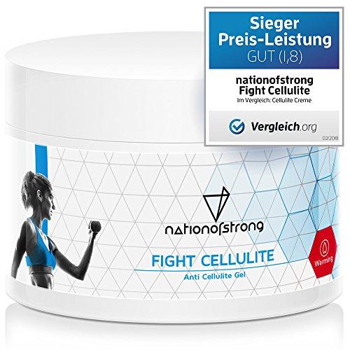 Der Preis-Leistungs-Sieger 2018 bei Vergleich.org | Fight Cellulite | 225ml straffende Crème mit...
