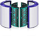 AIEVE Filtro di ricambio per Dyson Pure Hot Cool HP04 e Pure Cool TP04 DP04 purificatore d'aria e ventola, sistema di filtro a 360 ° a due stadi sigillato