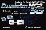 2-phones-in-1 2in1-NC2N8 Dual SIM Adapter für Samsung Galaxy Note 8