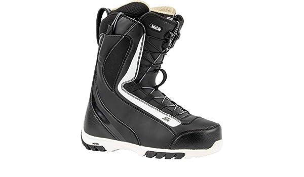 Scarponi da snowboard da donna colore: nero con allacciatura rapida 27,5 Nitro Snowboards CUDA TLS 20 All Mountain Freestyle
