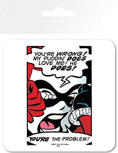 Harley Quinn, DC Comics-Puddin-Sottobicchieri