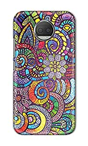 ZAPCASE Printed Back Cover for Motorola Moto G6 Plus