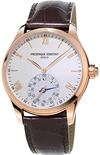 Frederique Constant Men's Analogue Quartz Watch with Leather Strap FC-285V5B4