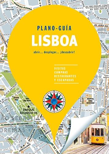 Lisboa (Plano - Guía): Visitas, compras, restaurantes y escapadas (Plano - Guías) por Autores Gallimard Autores Gallimard