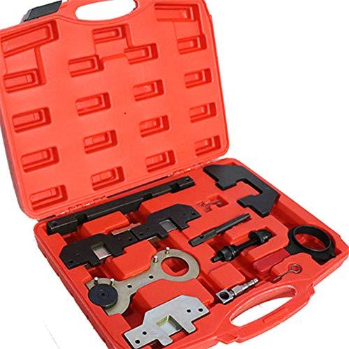 YIYIBY Motor Einstellwerkzeug Satz BM W, Motor Nockenwellen Kurbelwellen Arretierung Einstellwerzeug Steuerzeiten Zahnriemen wechsel Werkzeug M40 M43 M42 M44 M50 M52 M54 M56