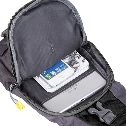 FakeFace Neu Unisex Umhängetasche Bauchtasche Oberarmtasche Hüfttasche Geldbeutel Sport Tasche Body Bag Lila Schwarz Blau Schwarz