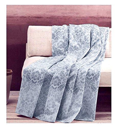 Zucchi artículo Textil Decorativo Multiuso Basics Sofá, Cama Individual/Plaza y Media 180x...