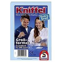 Schmidt-Spiele-49070-Kniffelblock-extra-gro Schmidt Spiele 49070 Kniffelblock groß 100 B, bunt -