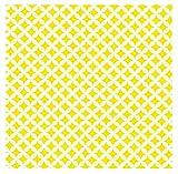 i.stHOME Klebefolie Rauten gelb weiß Elliot Möbelfolie selbstklebend Dekorfolie Möbel 45x200 cm Selbstklebende Folie Selbstklebefolie Retro Vintage Muster