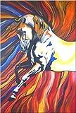 Unikat Exklusive-ART Malerei Bild handmade abstrakt öl original painting acryl modern XXL Titel: Dynamik (80 cm x 120 cm)