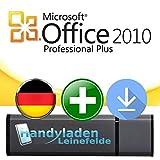 Microsoft® Office Professional 2010 ISO USB. 32 bit & 64 bit - Original Lizenzschlüssel mit bootfähigen USB Stick von - * HANDYLADEN-LEINEFELDE®