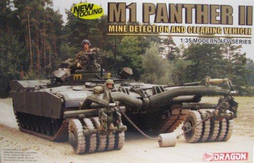 Dragon 500773534 - M1 Panther II 1/35 (Minen- und Räumfahrzeug)