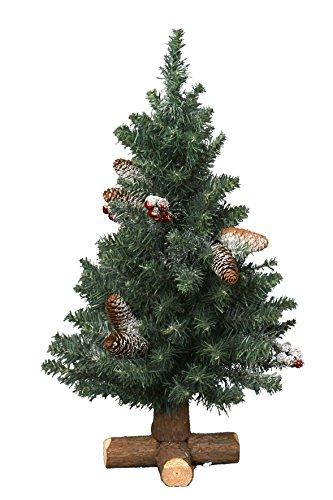 Mini Weihnachtsbaum Mit Batterie.Künstlicher Mini Weihnachtsbaum Geschmückt Und Beleuchtet