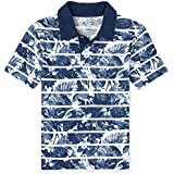 The Children's Place Boys' Short Sleeve Print Jersey Polo