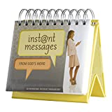DaySpring Instant Messages from God, DayBrightener Perpetual Flip Calendar, 366 Days of Inspiration (80296)