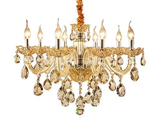 erze Kristallleuchter Beleuchtung 8 Lichter Deckenleuchte Lampe Schlafzimmer Restaurant Porch Dekoration ()