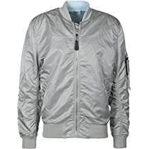 Alpha Industries MA-1 VF LW Reversible Chaqueta bomber silver