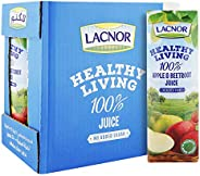 Lacnor Healthy Living Apple & Beetroot Juice - 1 Litre (Pack o