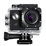 OPTA SC-003, 4K Action Camera 20MP 2.0 Inch Waterproof Diving Camera with 1 Batteries and Accessories Kit Included (Black+Wifi)! Launch offer