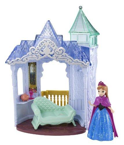 Disney Frozen Toy-Custodia e interruttore Castle Playset-Magiclip-con Anna (Disney Castello)