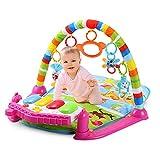 Navigatee Baby Gym Spielmatte Activity Gym Mat Kleinkind-Aktivität Klaviermatte Spieldecke Krabbelmatte
