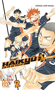 Haikyu!! Les AS du Volley Edition simple Tome 2
