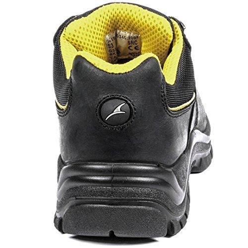 Albatros de sécurité s3 641340–263 de sécurité mixte adulte Noir/jaune