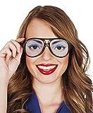 erdbeerclown - Augen, Eyes, Brille, Kostüm, Sonnenbrille, Schwarz