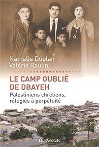 Book's Cover ofLe camp oublié de Dbayeh