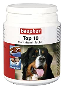 Beaphar Vitamins » Dog Top 10 Vitamins » 180 Tablets