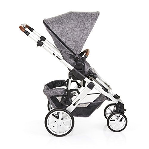 ABC Design 2018 Salsa 4 Pushchair and Carrycot, Race  Kims Baby Equipment Co Ltd