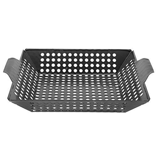 Antihaft-Camping BBQ Grill Pan Platte Emaille Backblech Kühlregal Easy Clean Schneller Aufheizen
