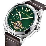 Pagani Design analoge automatische Uhr mit grünem Zifferblatt Analog Display