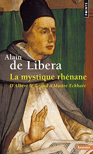 La mystique rhénane par Alain de Libera