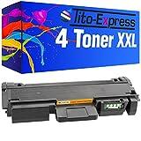 PlatinumSerie® 4x Toner-Kartusche XXL kompatibel für Samsung MLT-D116L M2820D M2820DW M2820ND M2825DW M2825ND M2825ND M2825 Series M2826 M2830DW SL-M2675FN SL-M2820DW SL-M2820ND