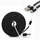 YANSHG micro câble USB tressé câble Fast charger USB à micro USB 2,0 Android cordon de charge pour Samsung Galaxy S7/S6/S5/Edge, note 5/4/3, LG, Nexus, HTC, Nokia, QP4