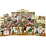 Extra Large Nostalgic Christmas Shop Deluxe Stand Up Card Advent Calendar 68cm
