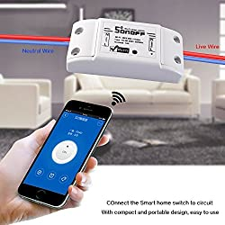 Amicikartâ® Smart Wifi Wireless Switch Intelligent Cell Phone Wireless Remote Control Switch - Abs Shell Socket Diy Home For Ios Android
