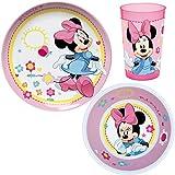 Ciao 49140–Set Tisch Minnie Favorites, Pink/Weiß