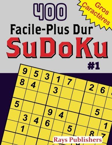400 Facile-Plus Dur SuDoKu #1