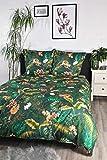 jilda tex Bettwäsche Digitaldruck 100% Baumwolle Design Amazonas Bettwaesche 135x200 cm Bettwaesche