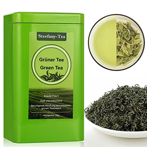 Grüne Tee, Ganze Teeknospen, Green Tea, Losen Tee 200g