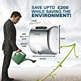 Hand Dryer - High Speed Automatic Electric Heavy Duty Stainless Steel Commercial Hand Dryer for Toilets, Washrooms, High Traffic, Businesses, Schools, Colleges, Restaurants, Pubs, Night Clubs, Hotels, Warehouses, Public Areas, Airports, Bus Stations - ABIS Excel-9 New Eco Plus (Polished Chrome)