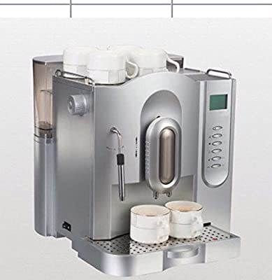 CAPTAIN&COFFEE 707 BEANS TO CUP COFFEE MACHINE FULLY automatic CAN MAKE CAPPUCCINO LATTE ESPRESSO MACHIATO by CAPTAIN&COFFEE 707