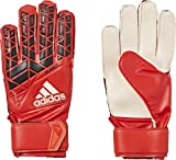 adidas Kinder ACE Fingersave Junior Torwarthandschuhe, Red/Core Black/White, 8