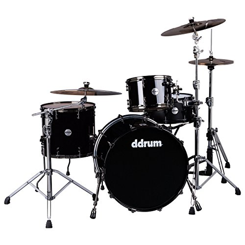 ddrum MAX 324 PB Piece Drum Shell Pack, schwarz
