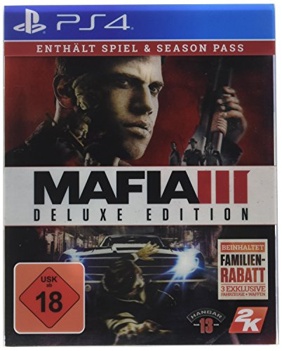 Mafia III - Deluxe Edition - [PlayStation 4] (Playstation 4 Gta 5 Edition)