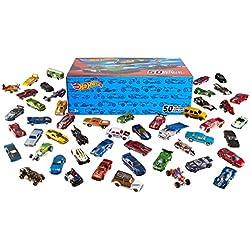 Mattel V6697 Hot Wheels - Set de coches para colección (50 unidades)