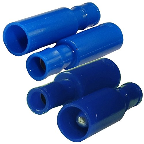 20x Cosse /électrique cylindriques m/âle femelle bleu /Ø4mm 2mm/² 20A C11656C11657 Aerzetix